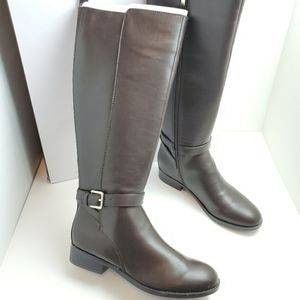 New Nine West Tall Riding Boots